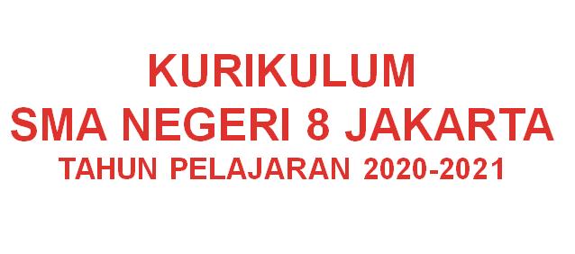 KURIKULUM SMAN 8 JAKARTA