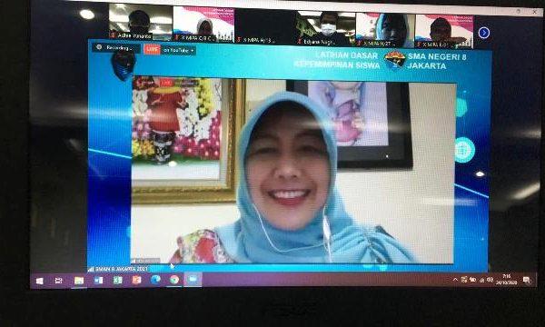 SMAN 8 Jakarta Gelar Latihan Dasar Kepemimpinan Siswa