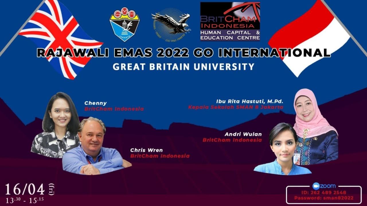 SEMINAR INSPIRASI ROAD MAP RAJAWALI EMAS GO GREAT BRITHAIN UNIVERSITY