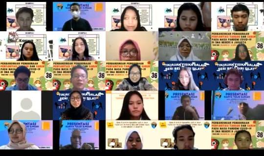 Para Dosen dan Peneliti Menguji Hasil Penelitian Siswa SMAN di Jakarta