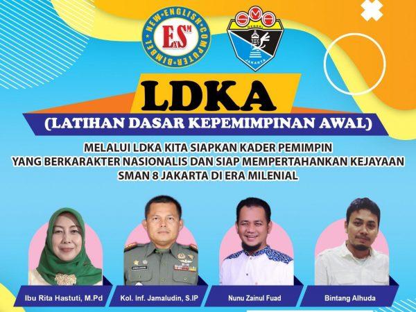 LDKA SMAN 8 Jakarta di Tengah Pandemi