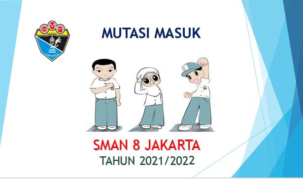 INFORMASI MUTASI MASUK KELAS XI SEMESTER GANJIL 2021/2022